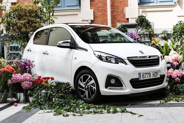 Peugeot 108 Flower Market - PUNTA TACÓN TV