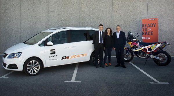 SEAT coche oficial KTM España - PUNTA TACÓN TV
