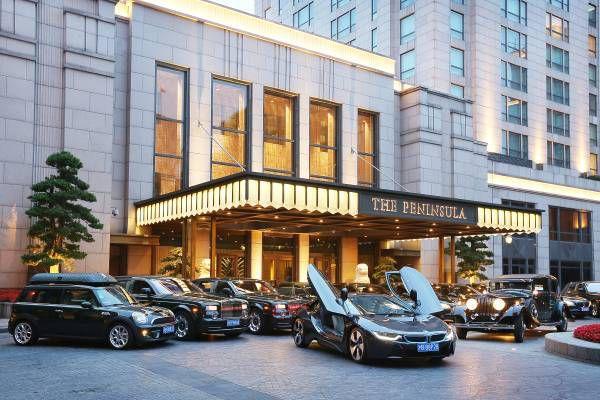 BMW i8 hotel The Peninsula - PUNTA TACÓN TV