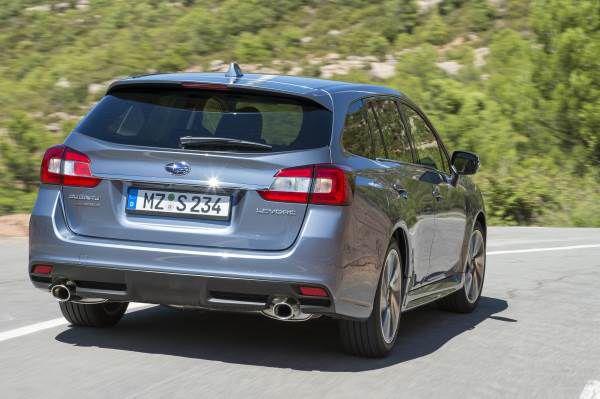 Nuevo Subaru Levorg trasera - PUNTA TACÓN TV