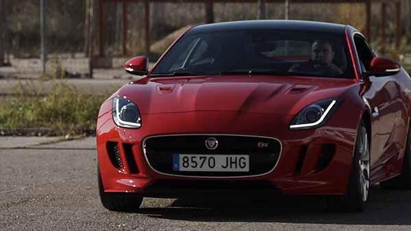 Jaguar F-TYPE S Coupé - PUNTA TACON TV