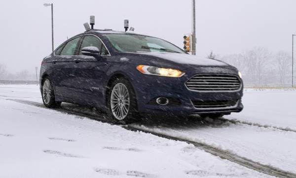 Conducción autónoma sobre nieve de Ford - PUNTA TACÓN TV