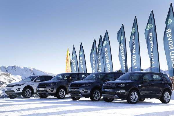 Gama Land Rover en Grandvalira - PUNTA TACÓN TV