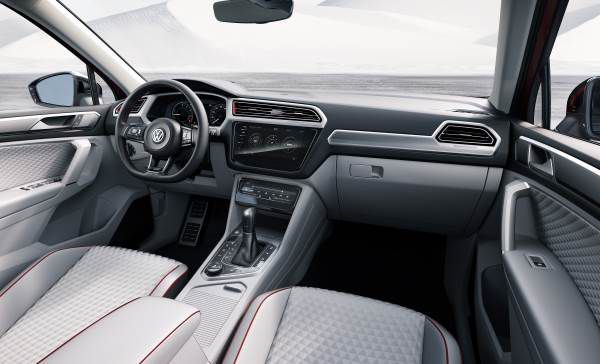 Interior Volkswagen Tiguan GTE Active Concept - PUNTA TACÓN TV