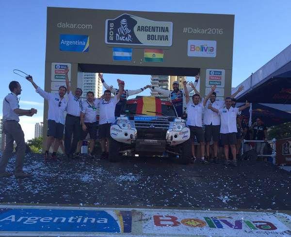 Llegada del Dakar 2016 en Rosario - PUNTA TACÓN TV