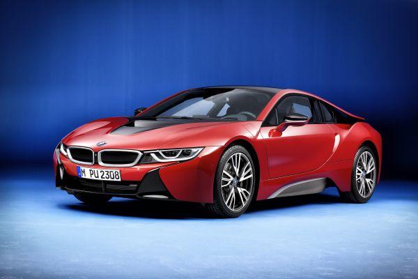 BMW i8 Protonic Red Edition - PUNTA TACÓN TV