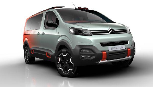 Citroën Space Tourer Hyphen delantera - PUNTA TACÓN TV