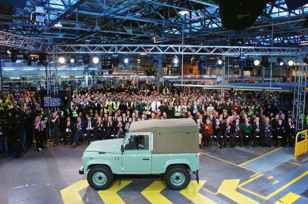Empleados de Land Rover - PUNTA TACÓN TV