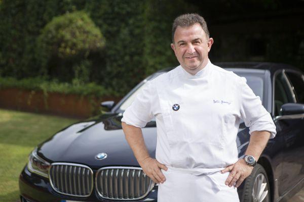 Martín Berasategui nuevo embajador de BMW - PUNTA TACÓN TV