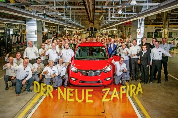 Nuevo Opel Zafira en la planta de Rüsselsheim - PUNTA TACÓN TV
