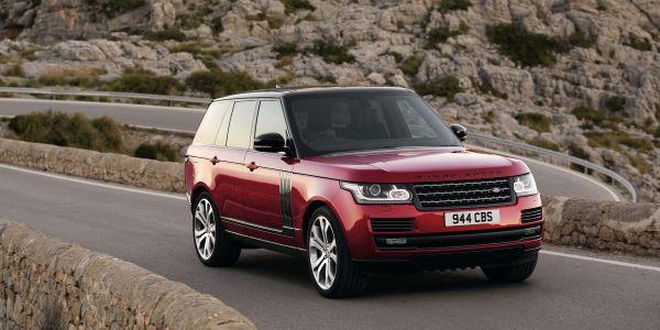 Range Rover SVAutobiography Dynamic frente - PUNTA TACÓN TV