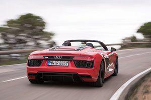 Audi R8 Spyder trasera - PUNTA TACÓN TV