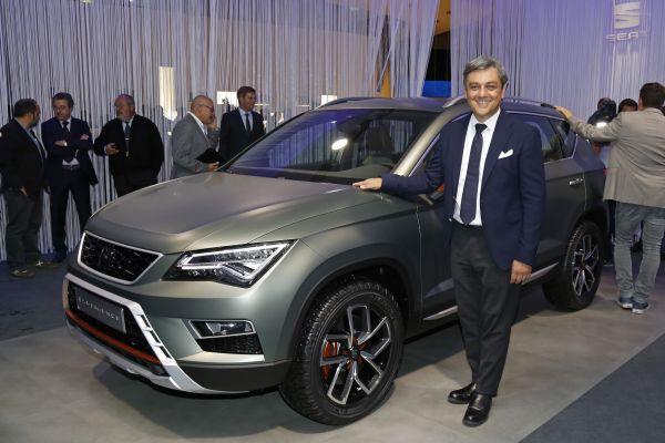 Luca de Meo presentó el SEAT Ateca X-Perience - PUNTA TACÓN TV
