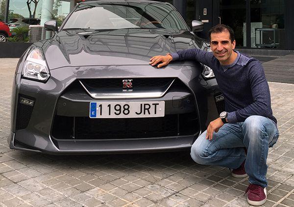 Marc Gené ya tiene su Nissan GT-R 2017 - PUNTA TACÓN TV
