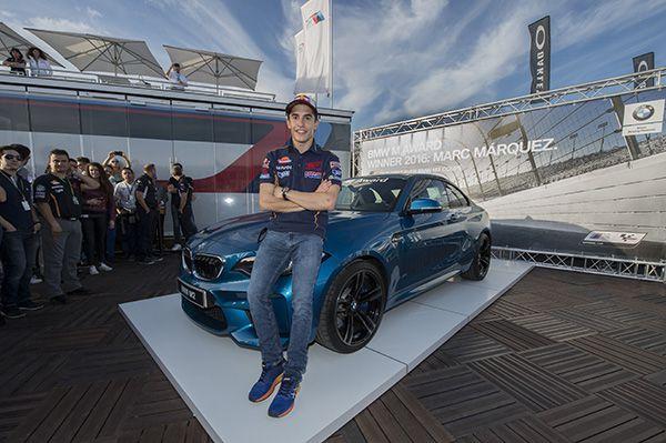 Marc Márquez y su BMW M2 - PUNTA TACÓN TV