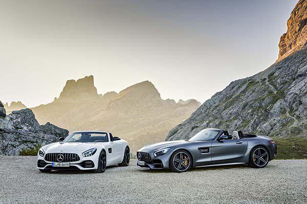 Mercedes-AMG GT Roadster y GT C Roadster - PUNTA TACÓN TV