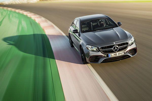 Mercedes E 63 AMG frente - PUNTA TACÓN TV