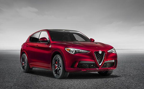 Nuevo Alfa Romeo Stelvio Quadrifoglio frente - PUNTA TACÓN TV