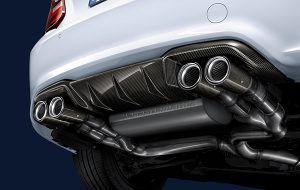 Sistema de escape BMW M Performance - PUNTA TACÓN TV