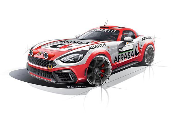 Abarth 124 Rally - PUNTA TACÓN TV