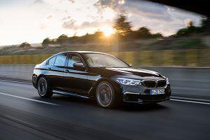 BMW M550i xDrive frente - PUNTA TACÓN TV