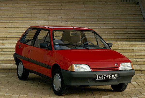 Citroën AX 1987 - PUNTA TACÓN TV