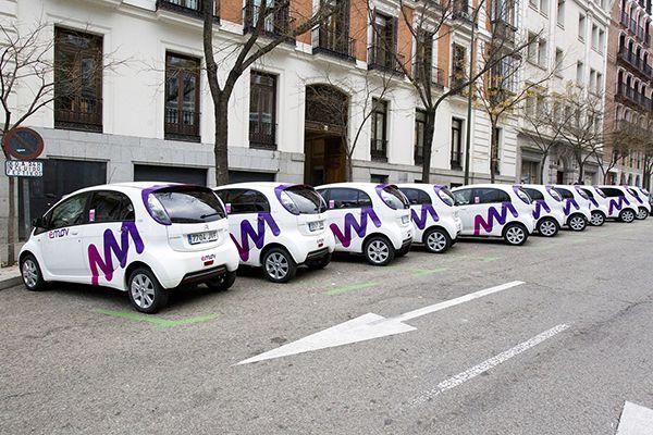 Inicio de la actividad de emov en Madrid - PUNTA TACÓN TV
