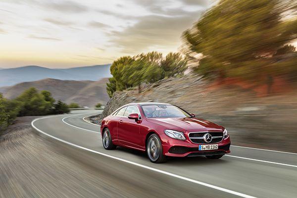 Nuevo Mercedes-Benz Clase E Coupé frente - PUNTA TACÓN TV