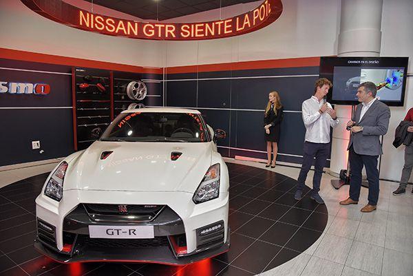 Presentación del GT-R Nismo en Ibericar Reicomsa - PUNTA TACÓN TV