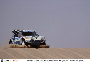 Peugeot 205 Turbo 16 Dakar 1988 - PUNTA TACÓN TV