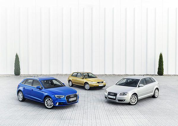 Tres generaciones Audi A3 - PUNTA TACÓN TV