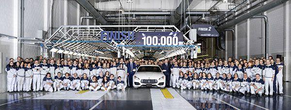 Unidad 100.000 de la planta Avv. Giovanni Agnelli - PUNTA TACÓN TV