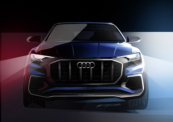 Audi Q8 concept frente - PUNTA TACÓN TV