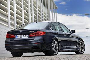 BMW M550i xDrive vista trasera - PUNTA TACÓN TV