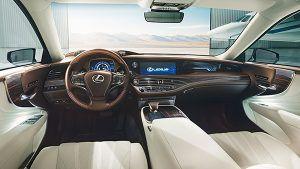 Interior nuevo Lexus LS - PUNTA TACÓN TV