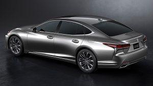 Nuevo Lexus LS trasera - PUNTA TACÓN TV
