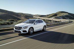 Nuevo Mercedes AMG GLA 45 4MATIC frente - PUNTA TACÓN TV