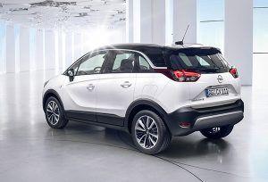 Nuevo Opel Crossland X trasera - PUNTA TACÓN TV