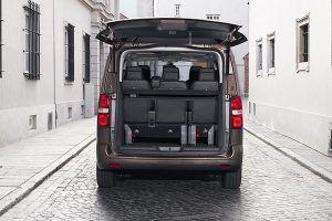 Capacidad de carga Toyota PROACE VERSO - PUNTA TACÓN TV