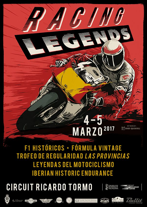 Cartel Racing Legends - PUNTA TACÓN TV