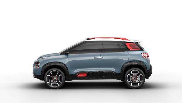 Citroën C-Aircross Concept - PUNTA TACÓN TV