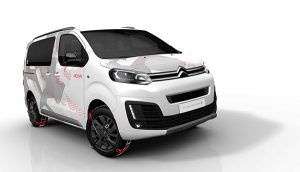 Citroën SpaceTourer 4x4 Ë Concept frente - PUNTA TACÓN TV