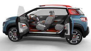 Diseño Citroën C-Aircross Concept - PUNTA TACÓN TV