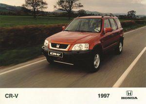 Honda CR-V 1997-2001 - PUNTA TACÓN TV