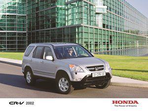 Honda CR-V 2002-2005 - PUNTA TACÓN TV