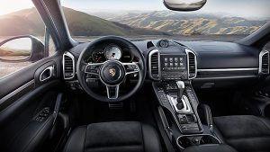 Interior nuevo Porsche Cayenne S Platinum Edition - PUNTA TACÓN TV
