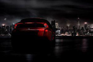 Mitsubishi Eclipse Cross trasera - PUNTA TACÓN TV