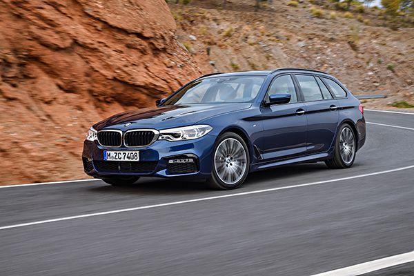 Nuevo BMW Serie 5 Touring frente - PUNTA TACÓN TV