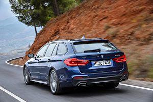 Nuevo BMW Serie 5 Touring trasera - PUNTA TACÓN TV