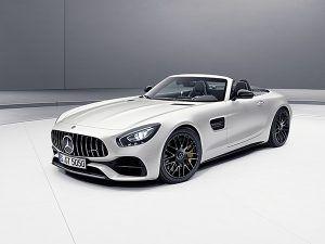 """Nuevo Mercedes-AMG GT C Roadster """"Edition 50"""" designo blanco Cachemira magno - PUNTA TACÓN TV"""